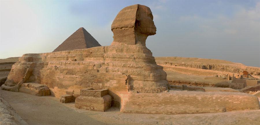 статуя сфинкс фото
